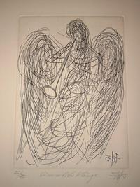 Ein Kupferstich des bekannten Künstlers Walter Dohmen