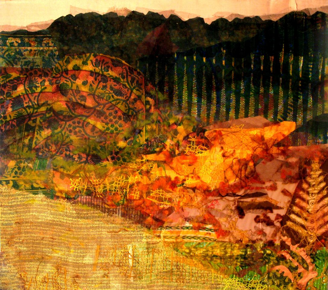 Herbstwanderung   (85x95cm)