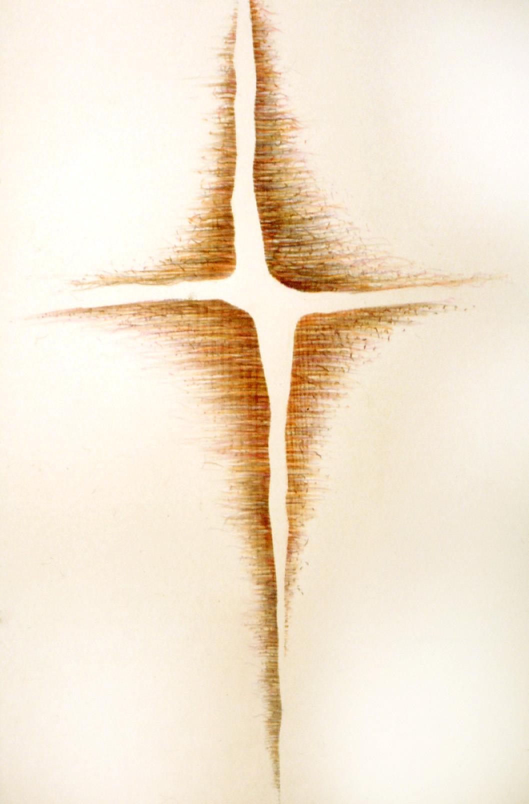 la croix blanche   (72x48cm)