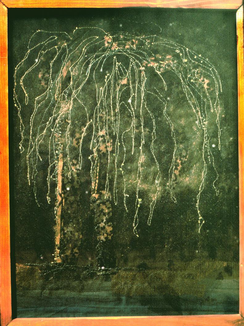 fröhliche Trauerweide   (50x35cm)*