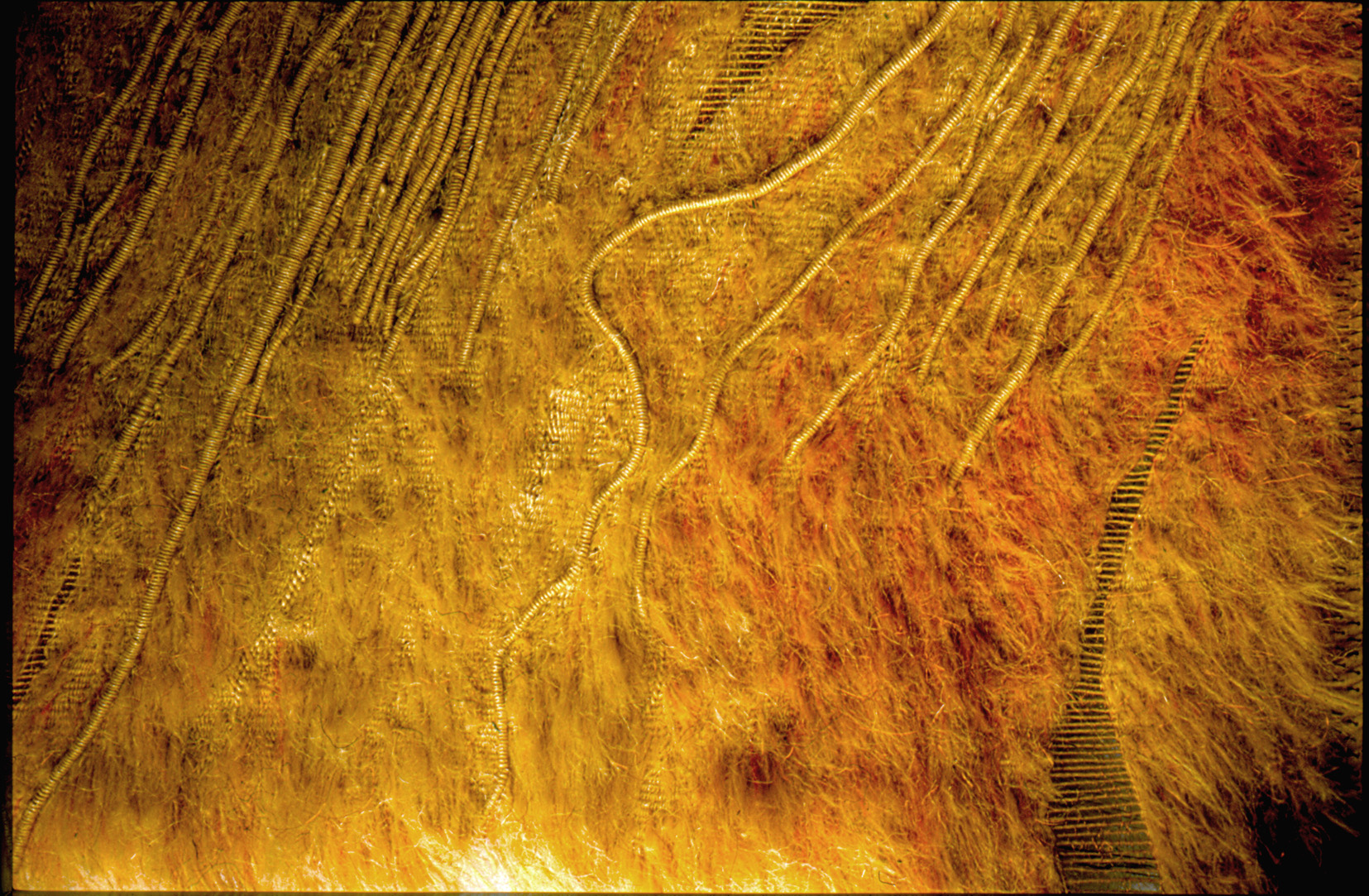 Erdenmantel   (185x300x10 cm), Teil 2: unter der Erde,         more info here