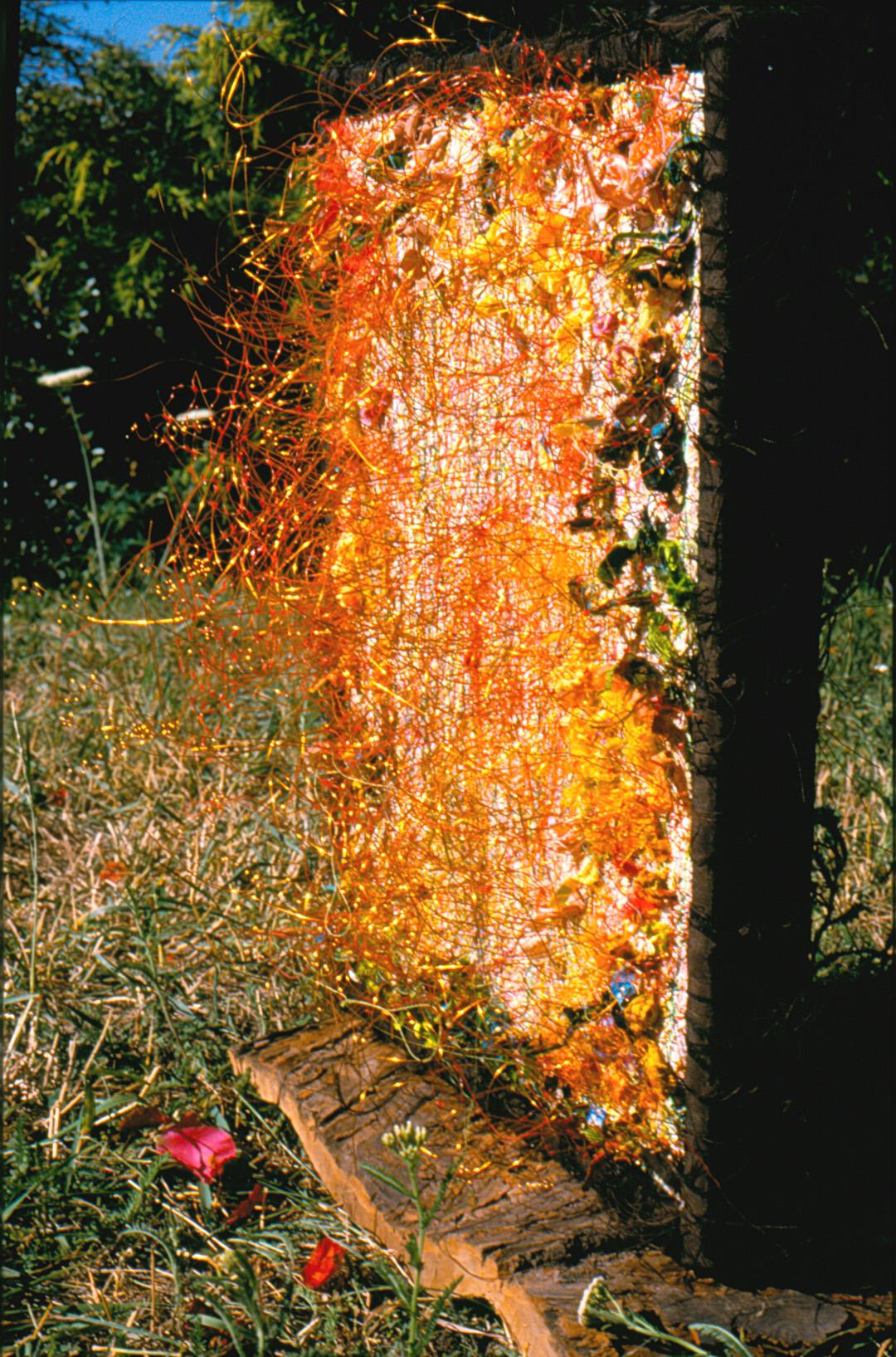 die Durchdringung der Erdscholle   (45x30x40cm)