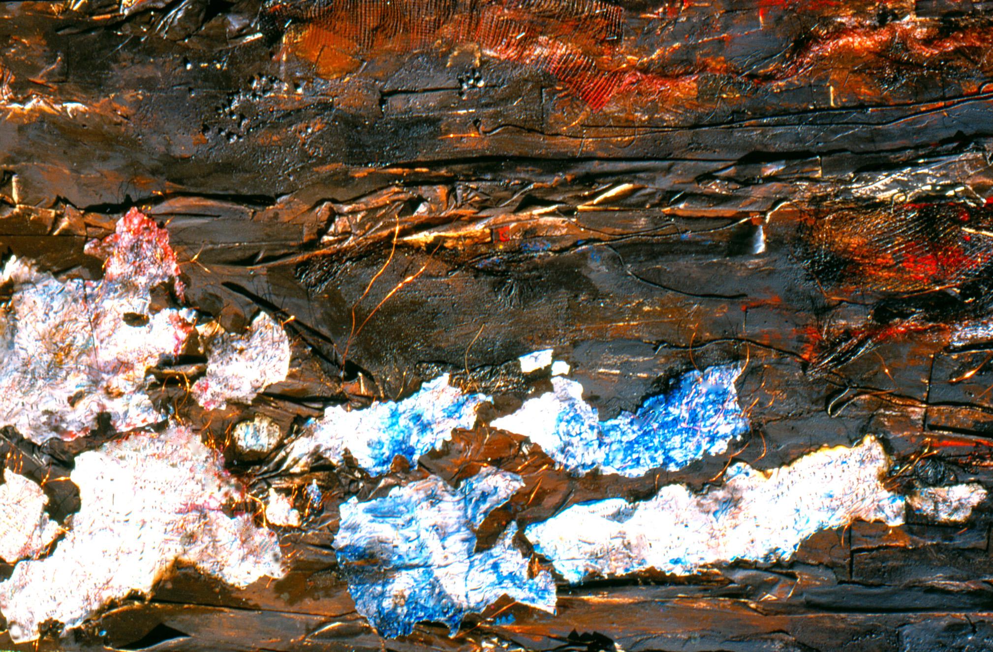 der Verbrannte Donauwalzer (100x150x6cm)*