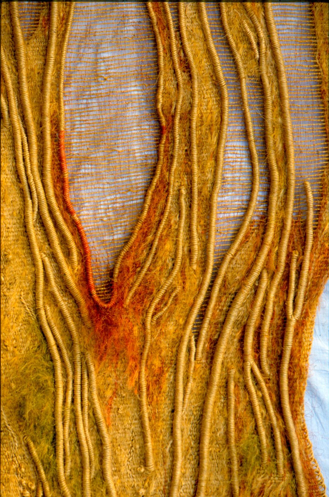 Sonnengeflecht   (230x110cm)*,   Detail