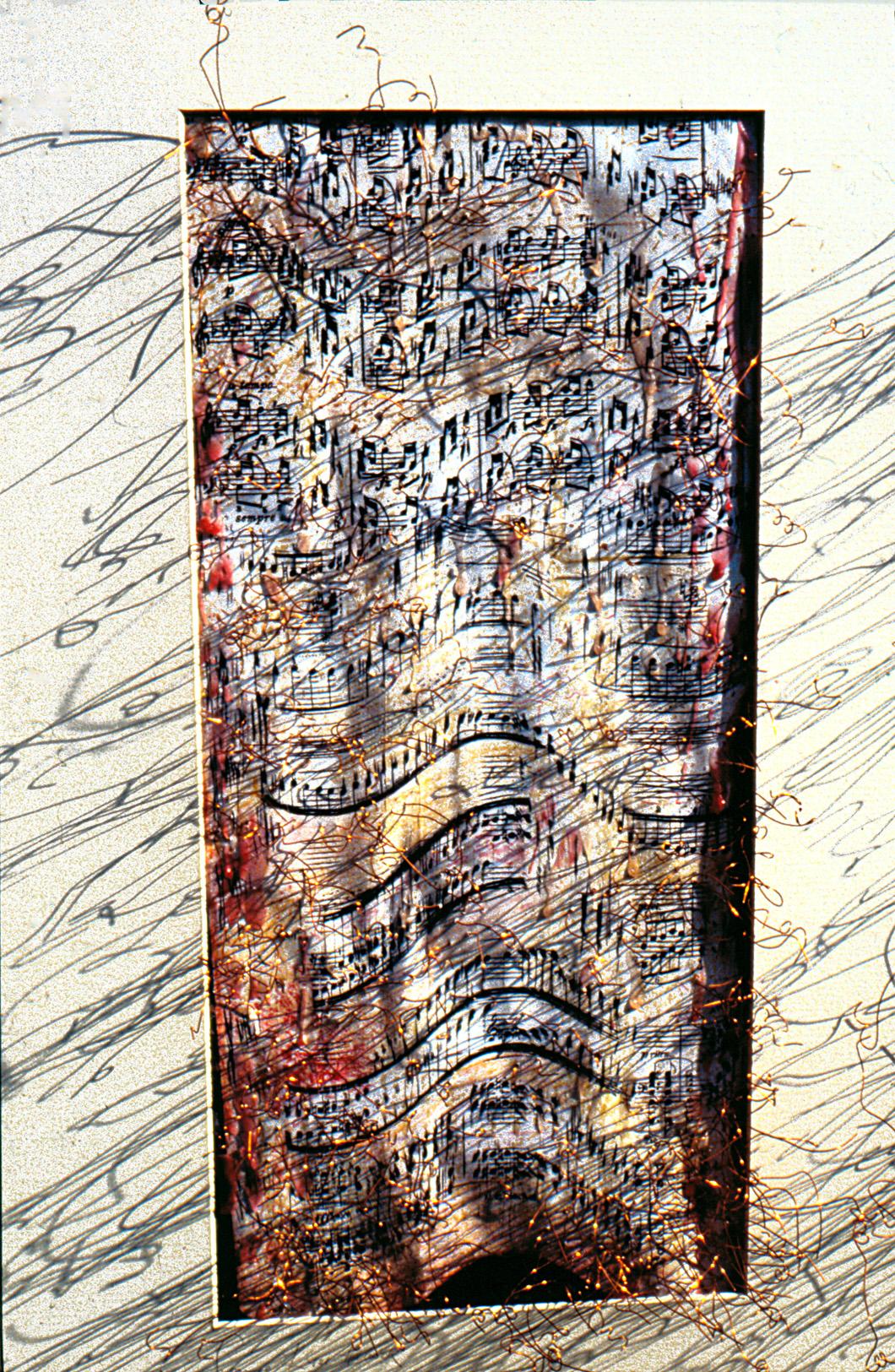furiosimento, detail  (52x72x10cm)