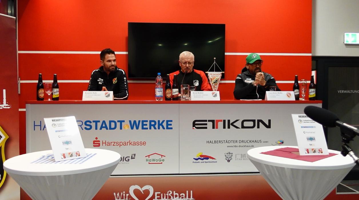 """Fußball Regionalliga: ...  """"Die Pressekonferenz"""""""