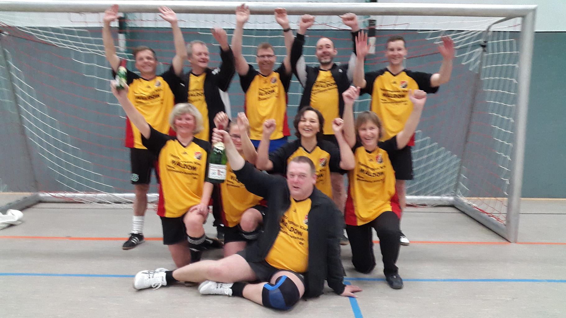 Siegerteam: die Eltern der C1