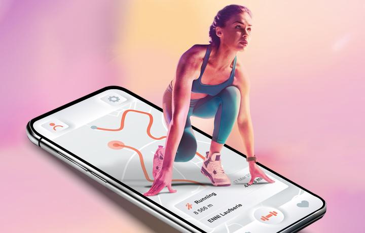 ENNI Laufserie - Jetzt virtuell - machen Sie mit