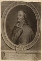 Mgr de Laval, gravure de Claude Duflos (1882)