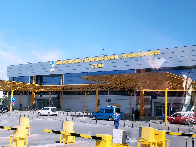 Ankunft in Cluj - Klausenburg
