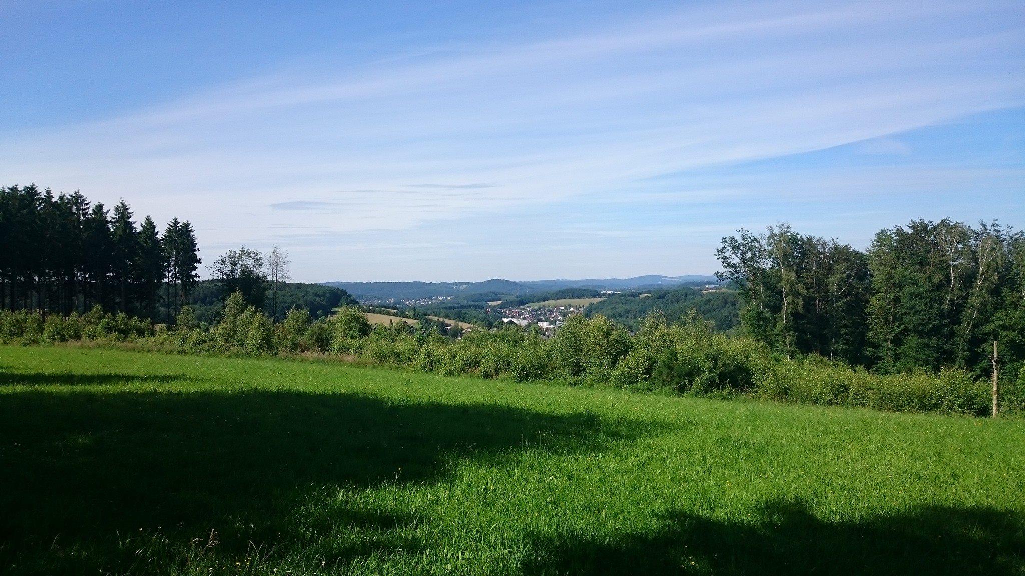 das schöne Oberbergische Land