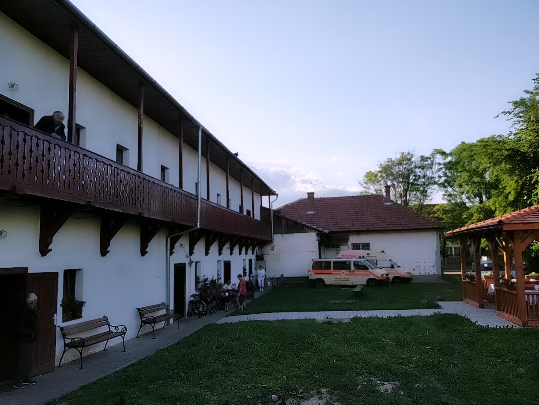 Das Altenheim von Bistritz.