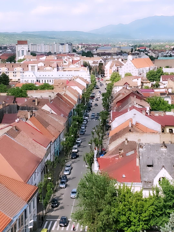 Ein kleiner Blick über den Dächern von Bistritz