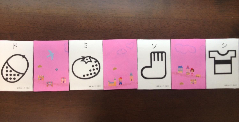 絵音符のカード