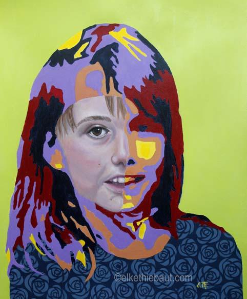 Title/Titre: «Future», acrylique et huile sur papier Fabriano 50 x 60 cm/ acrylics and oil on gessoed Fabriano paper, 50 x 60 cm, 2020