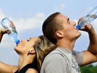 Wasser trinken - aber richtig!