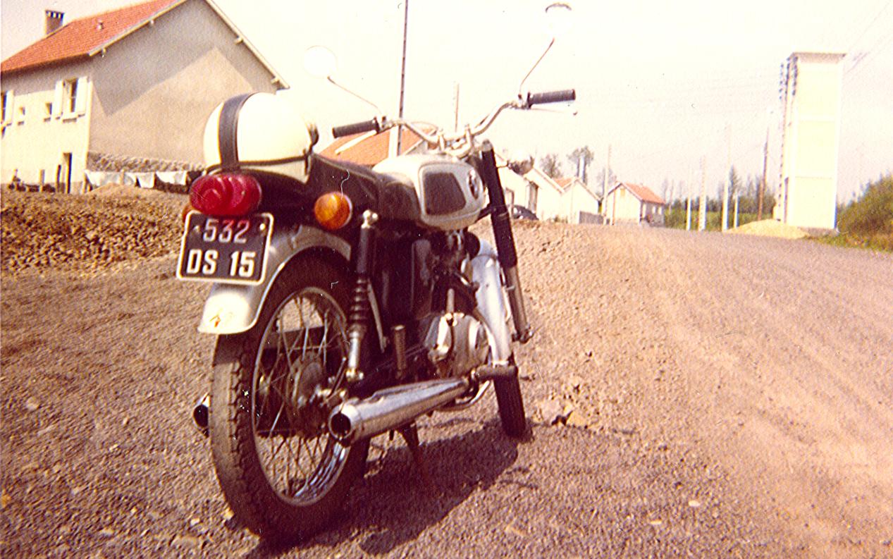 1970 : 125 honda ss