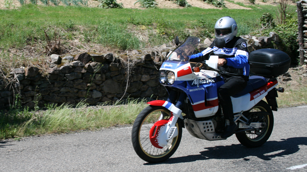 L'africa twin, tres polivalente