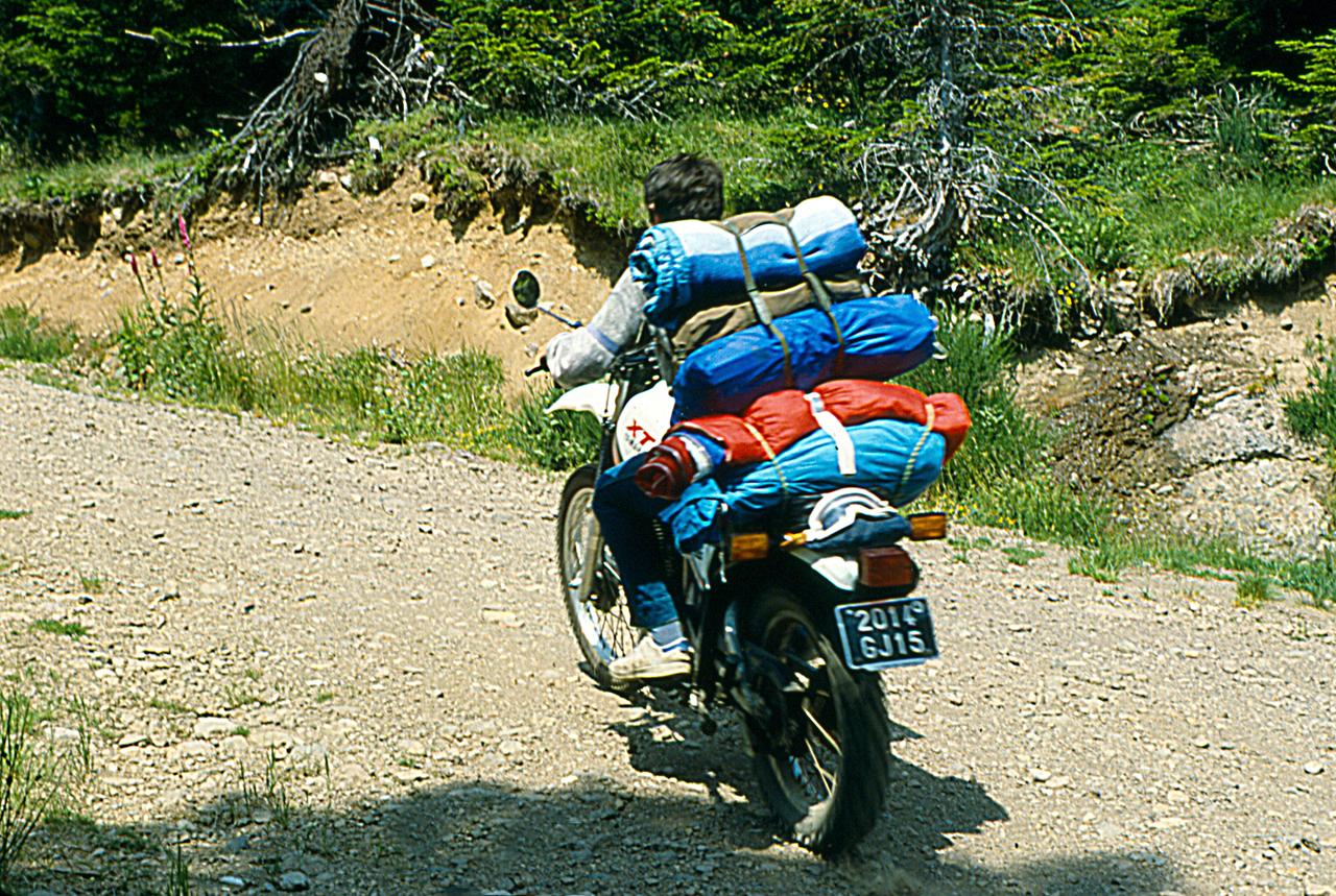 Charger pour un camping en montagne