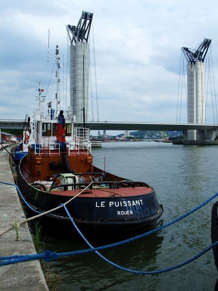 Le Puissant et le 6ème pont de Rouen