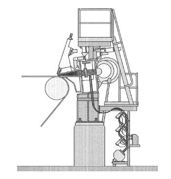 Hydraulischer Stoffauflauf