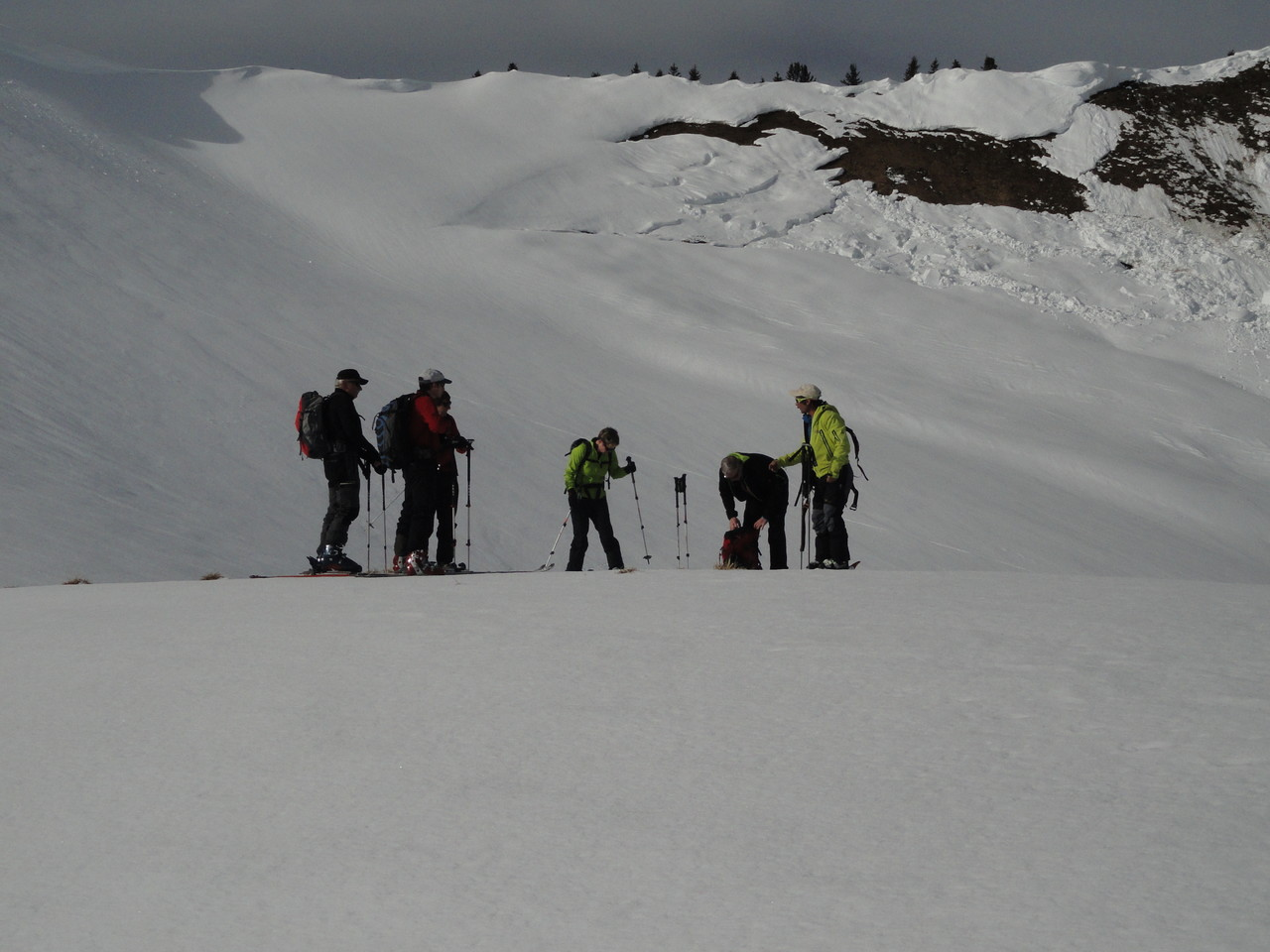 Tom mit seiner Gruppe