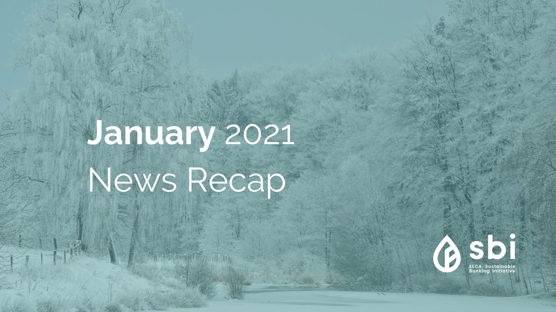 January 2021 News Recap