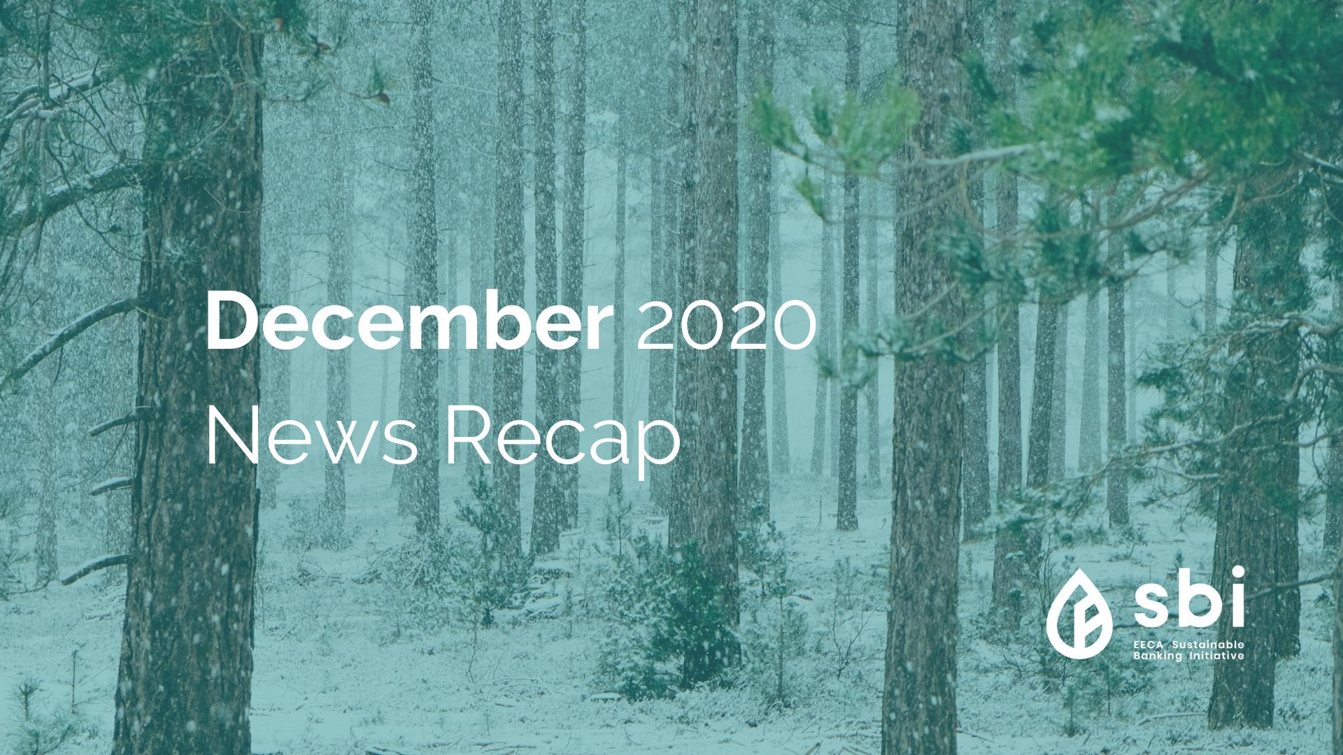 December 2020 News Recap