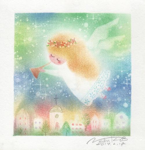 天使画/聖なる夜に