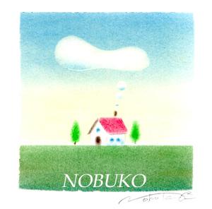 赤い屋根の家 パステル和アート ヒーリングハーツ熊本 スカイプ ズーム ZOOM