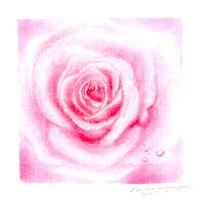バラアート/フリーハンドで描くバラ