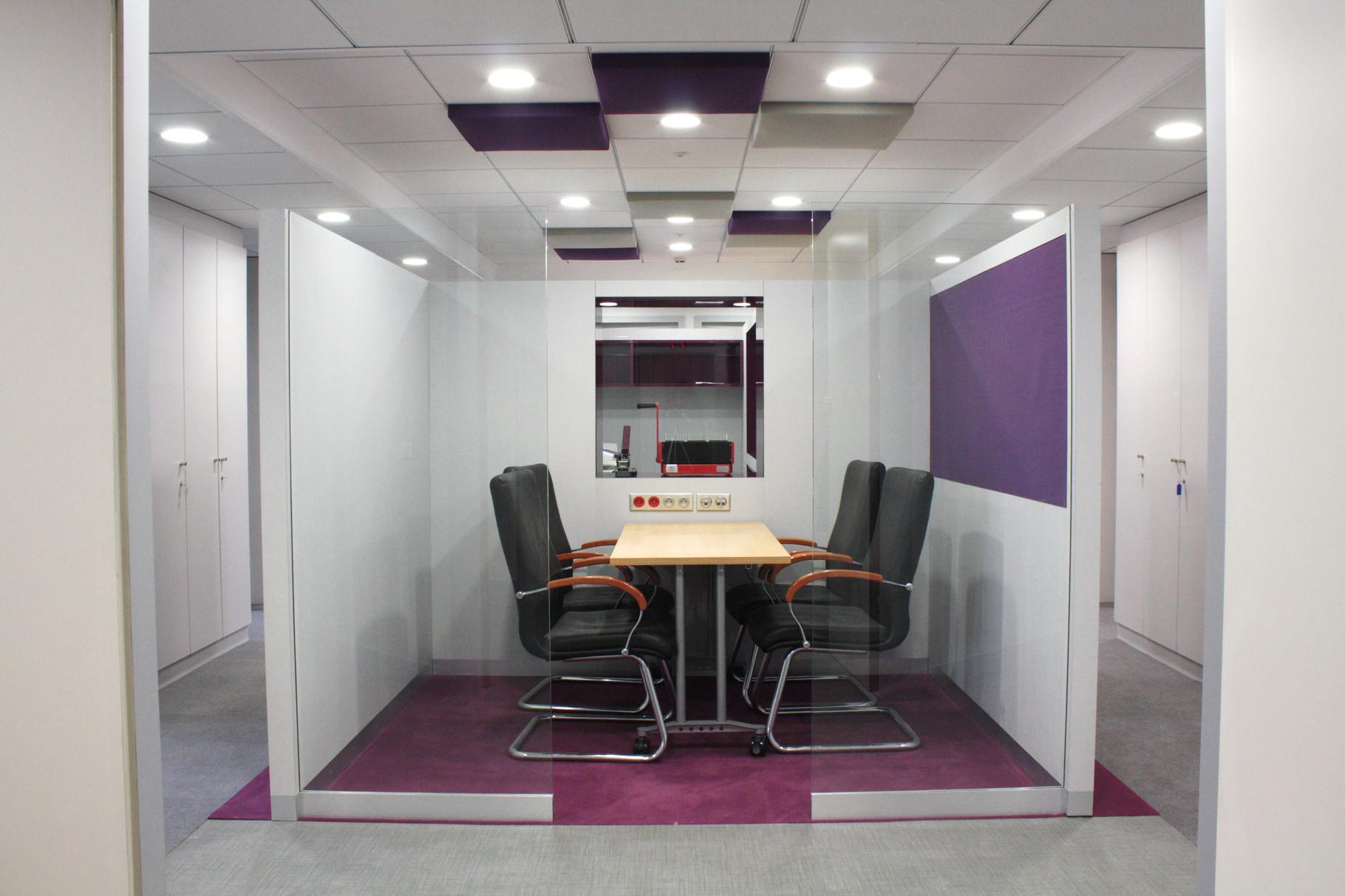plafond acoustique dans une salle de réunion, un atout de décoration à intégrer