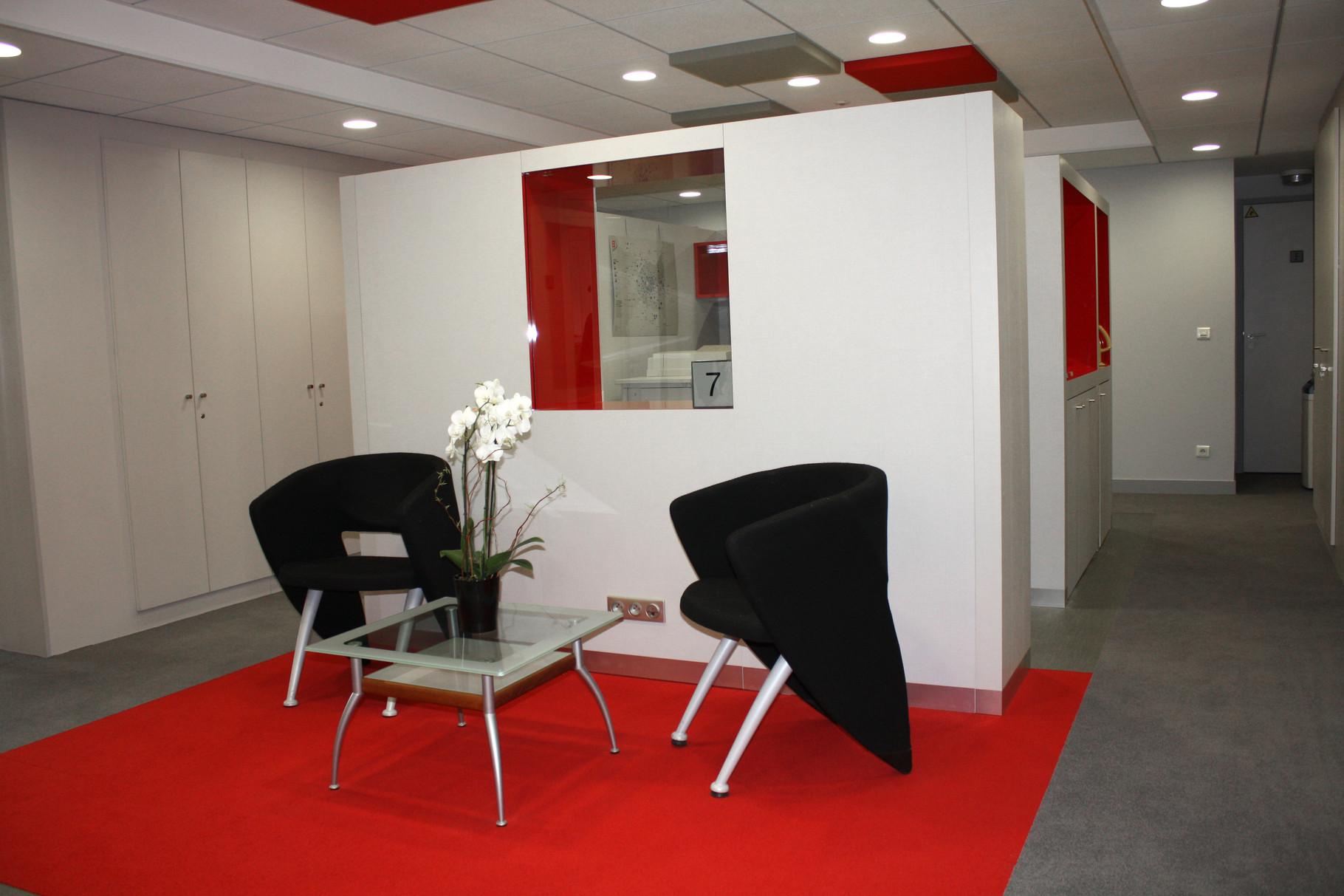 espace détente chaleureux et convivial dans l'entreprise