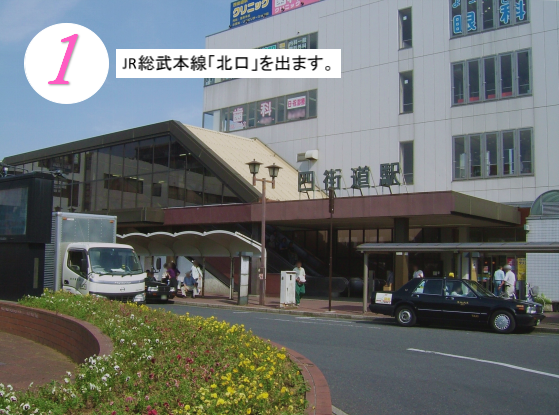 ヨガ&合気道スタジオ・アクセス写真①