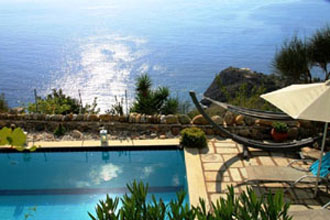 villa pool rodakino kreta