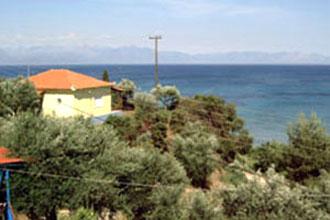 haus strand kombi peloponnes villa panagiotis