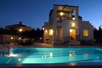 villa beach chania kreta maleme