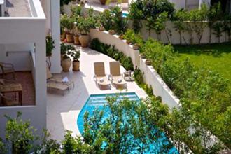 villa pool plakias kreta artemis