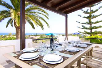 villa pool luxus rethymnon kreta
