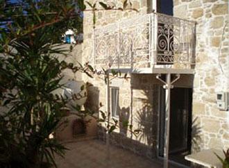 villa oasis gutshaus pool kamilari kreta