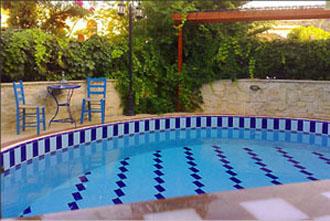 villa pool loutra nepheli kreta rethymnon