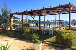 Vournelis / Appartements + Hotel mit Spa, am Strand N. Iraklitsa / bei Kavala