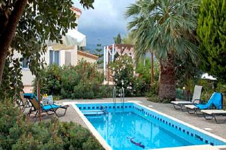 villa perama pool adonis kreta rethymnon