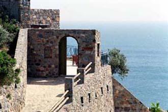 villa steinhaus luxus pool kampos livadia kreta artemis