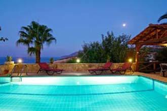 villa pool Episkopie rethymnon kreta avra
