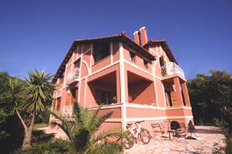 meliti beach villa Kanouli korfu