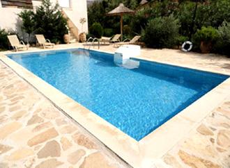 villa pool  listaros heraklion kreta