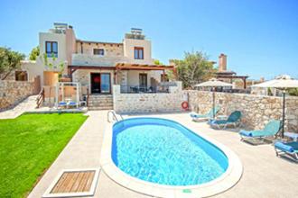 villa pool stavromenos kreta nikos