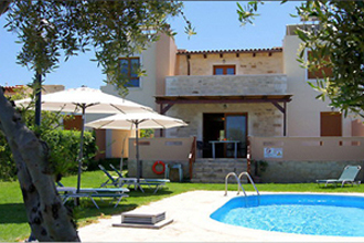 villa pool stavromenos kreta stamatis
