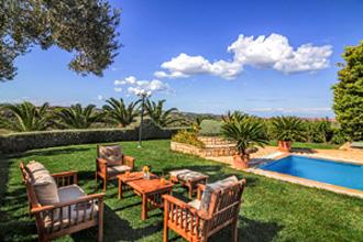 villa pool rethymnon perama stella kreta